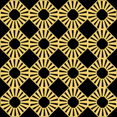 Panel Szklany Podświetlane Art Deco Art Deco seamless pattern.decoration ornament.