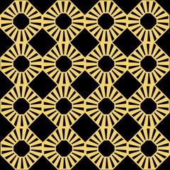 Fototapeta Art Deco Art Deco seamless pattern.decoration ornament.