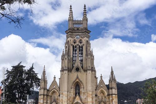 Foto op Canvas Zuid-Amerika land Basilique Nuestra Señora de Lourdes, Chapinero, Bogota