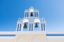 Typical Santorini Church In Gr...