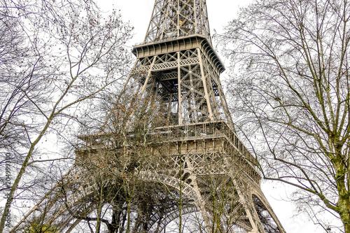 Papiers peints Paris Photo image a Beautiful panoramic view of Paris Metropolitan City