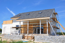 Renovation House With Asphalt ...