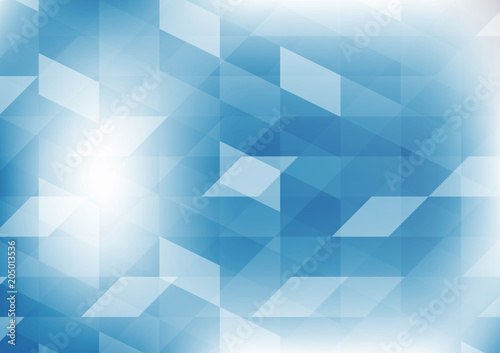 Vector Geometric Blue Color Illustration Graphic Abstract