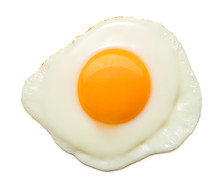 Top View Of Sunny Side Fried E...
