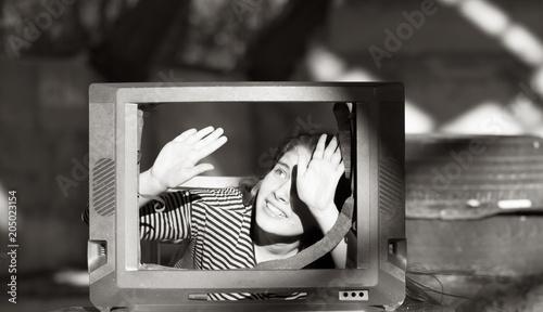 Valokuva  девушка молодая злая и раздражённая