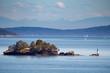 canvas print picture - Kleine Insel in den Gulf Islands bei Vancouver Island, British Columbia, Kanada.