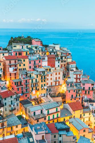 Foto op Aluminium Europese Plekken Manarola Village, Cinque Terre Coast of Italy