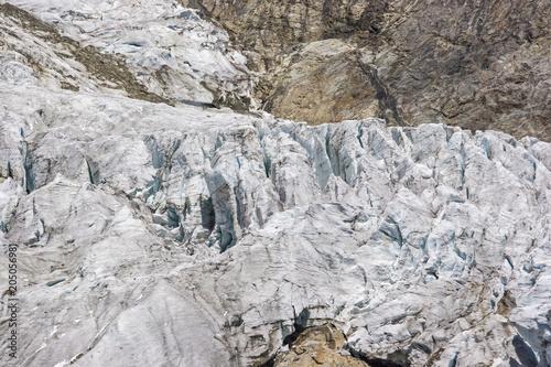Tuinposter Gletsjers Gletscherbruch im Val Veny