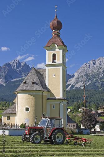 Deurstickers Historisch geb. Going in Tirol