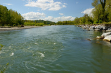 Freely Meandering River Gave D...