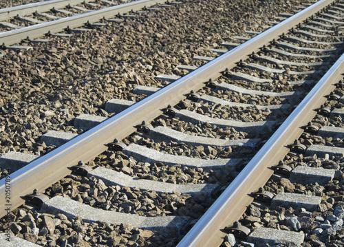 Foto op Canvas Spoorlijn 線路 素材