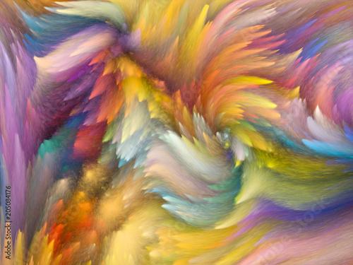 Fototapeta Color Motion obraz na płótnie