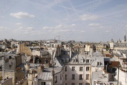 Foto op Canvas Parijs Paris - Panorama