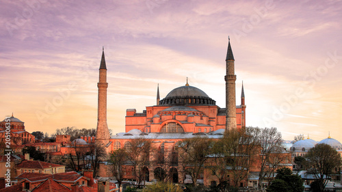 Foto op Aluminium Historisch geb. Nice view in the city of Istanbul in Turkey