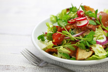 Fattoush Salad With Sumac And ...
