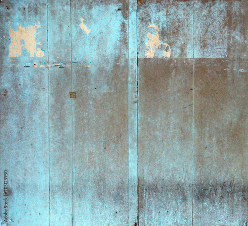 Foto op Plexiglas Artist KB Grungy wooden building, old ragged planks