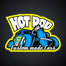 Hot Rod, Custom Made Cars. T-S...