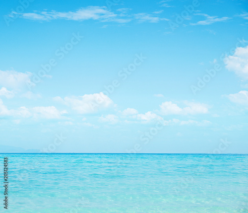 Foto op Plexiglas Artist KB Beautiful nautical landscape - asian paradise