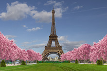 Eiffel Tower From Camps Of Mar...