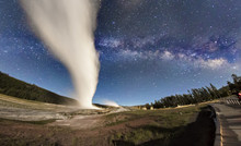 The Milky Way Rising Over Old ...