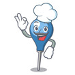 Chef clyster character cartoon style