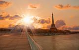Fototapeta Fototapety z wieżą Eiffla - Eiffel tower, Paris. France