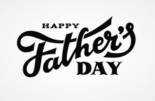 Happy Fathers Day Lettering