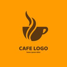 Logo Design Coffee Vector Template