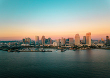 San Diego Bay Area Cityscape W...