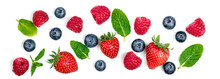 Various Fresh Forest Berries I...