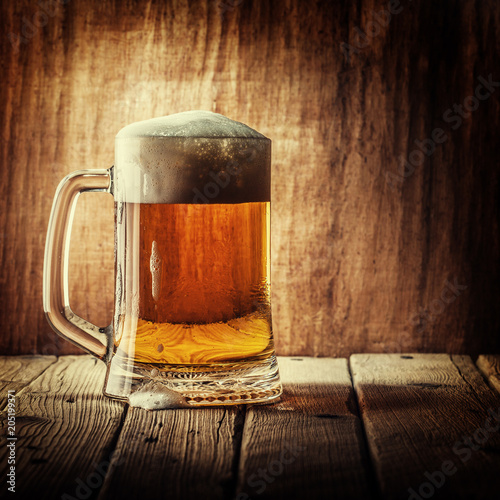 In de dag Bier / Cider Mug of beer