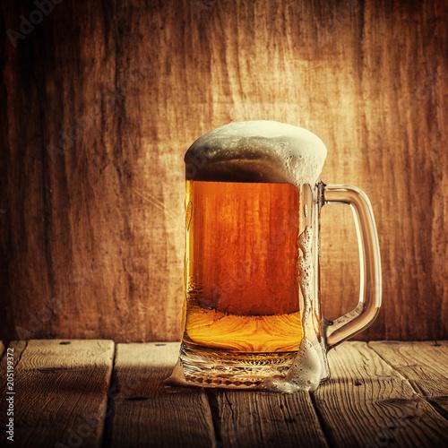 Foto op Plexiglas Bier / Cider Mug of beer