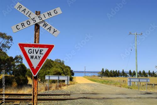 Australia, VIC, Railway