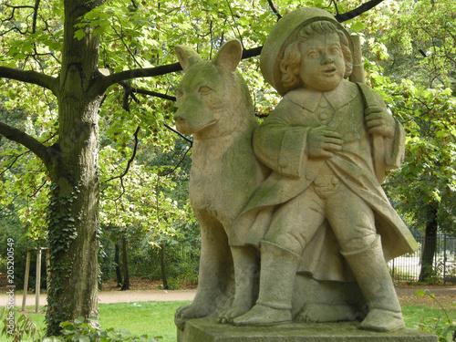Foto op Canvas Historisch mon. Volkspark Friedrichshain, Märchenfigur