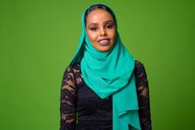 Young African Muslim Woman Aga...