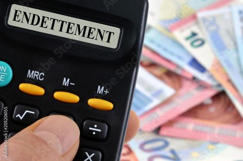 Photo Calcul de l'endettement