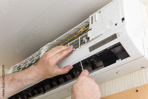 Photo Master check and clean air conditioning