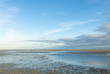 Nationalpark-Wattenmeer am Abend