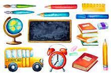 Back To School Design Elements