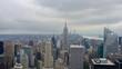 Stadtpanorama von New York, Skyline, Blick auf Hochhäuser