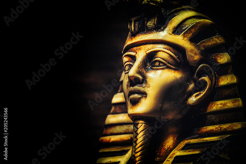 Photo Stands Egypt Stone pharaoh tutankhamen mask