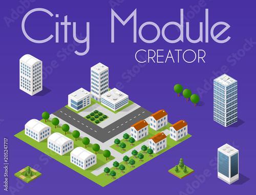 Poster Violet City module creator