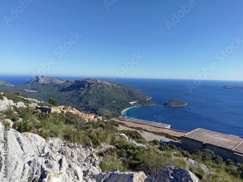 Fotografie, Obraz  Halbinsel Formetor Mallorca