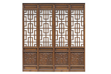 Chinese Traditional Style Wood...