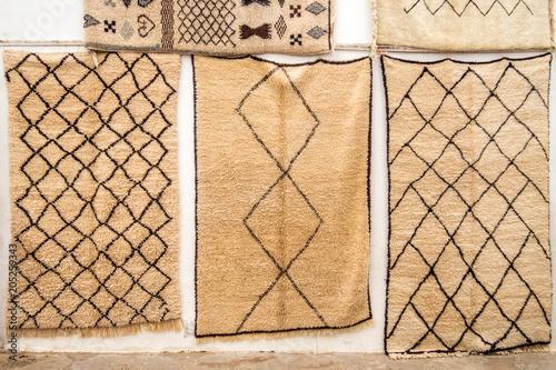 Mohair wool carpets Canvas Print