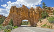 National Park Entrance Natural Arc, United States
