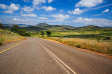 Scenic Route Near Graskop In The Blyde River Canyon, South Africa