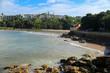 canvas print picture - Uvongo beach cove near Margate, KwaZulu-Natal province of South Africa