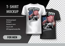 T-Shirt Template, Fully Editab...