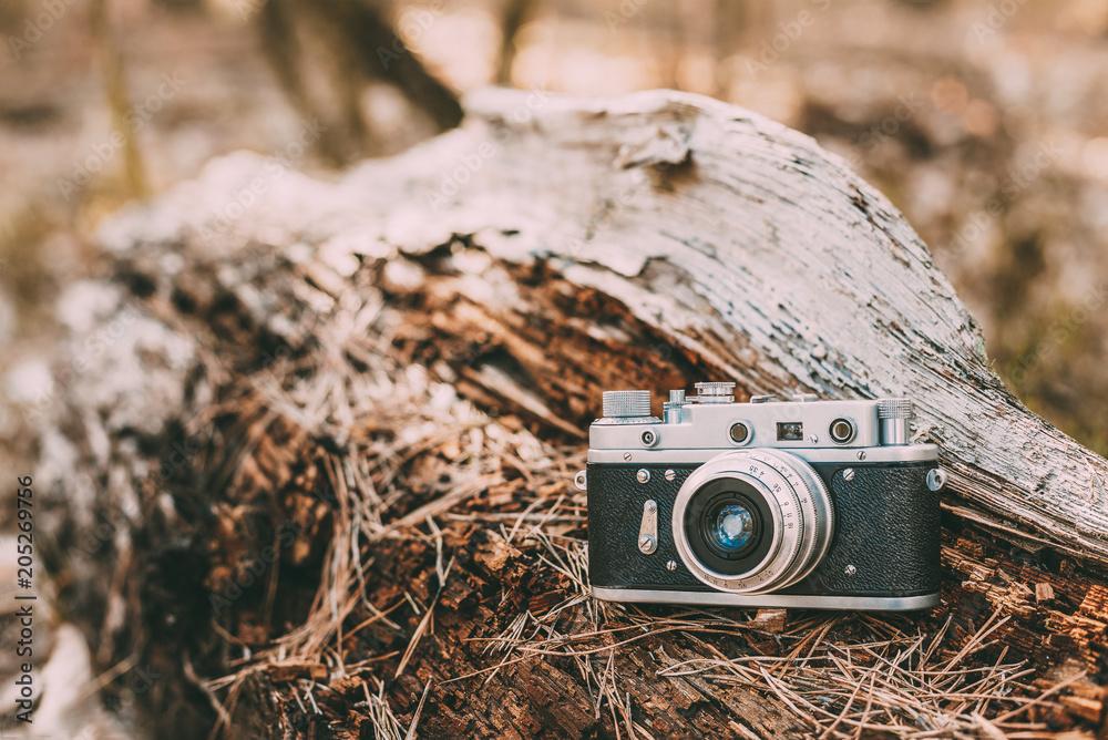Alte vintage kleinformat entfernungsmesser kamera er